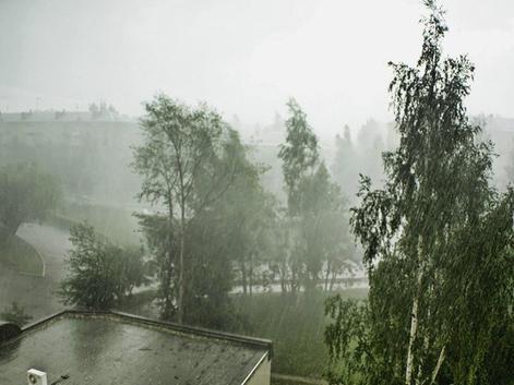 Сильный дождь, грозу и шквалистый ветер, на праздники синоптики прогнозируют