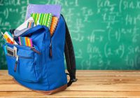 Пункт сбора канцелярии для школьников
