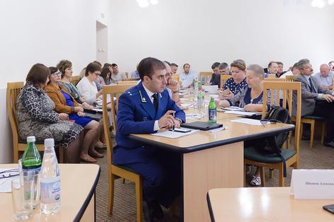 В администрации Минераловодского округа