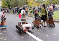 Парад самокатов