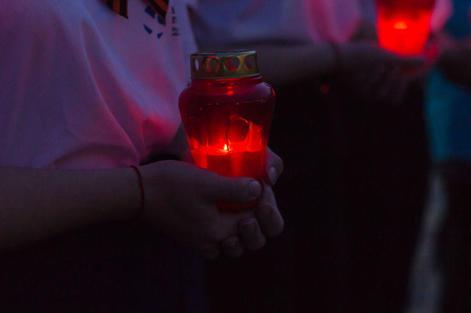 Минераловодцы зажгли свечи